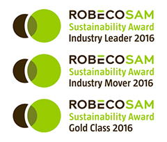"Sodexo earns Awards in All Three Categories in RobecoSAM's ""Sustainability Yearbook 2016"""
