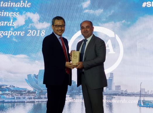 Sodexo wins Sustainable Business Award