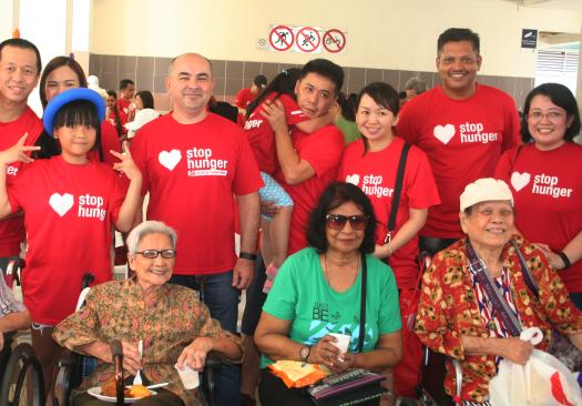Sodexo Volunteers Engage with the Local Community