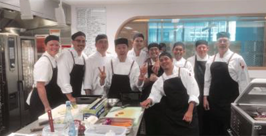 Chef Takes a Trip to Australia for Sodexo Global Chef Program